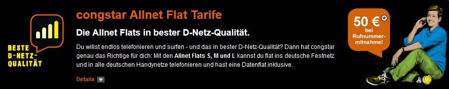 Allnet Flat Tarife